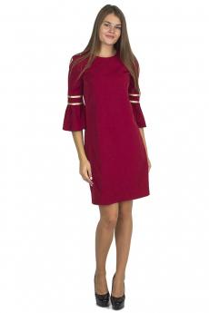 Платье М1034/2 бордовый Bast